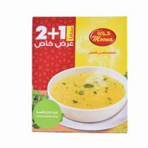 Moona Chicken Noodle Soup 3x70g