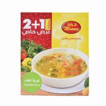 Moona Vegetable Soup 3x56g
