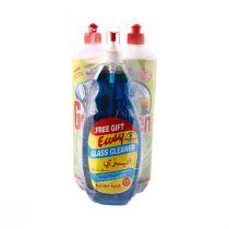Goldern Dishwashing Liquid Assortment (1 ltr x 2 pcs plus Easy Glass Cleaner Free)