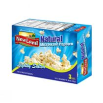 New Land Microwave Popcorn Natural (297 g)