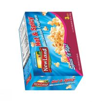 New Land Microwave Popcorn Hot & Spicy  (297 g)