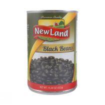 New Land Black Beans (432 g)