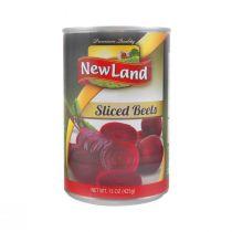 New Land Sliced Beets (425 g)
