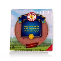 Siniora Slice Beef Mortadella with Vegetables 200g
