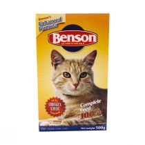 Benson Cat Food Chicken Flavour 500g