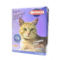 Benson Fish Cat Food 2Kg