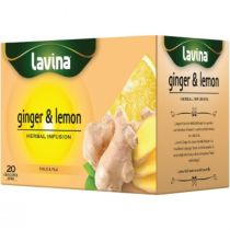 Lavina Herbal Infusion Ginger & Lemon (20 bags)