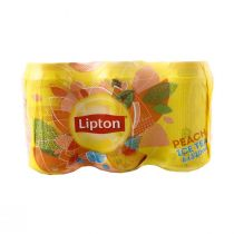 Lipton Ice Tea Peach (6 Pcs x 330 ml)