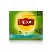 Lipton Green Tea with Mint (100 Tea Bags)