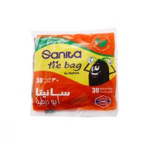 Napco Tie Bags 30 Gallon (30 Pcs)