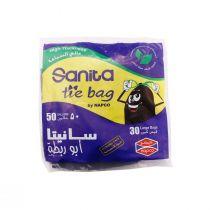 Napco Tie Bags 50 Gallon (30 Pcs)
