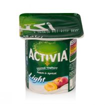 Activia Peach & Apricot 4 Pcs (120 g each)