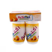 Actimel Multifruits Dairy Drink 4 Pcs (93 ml each)