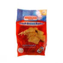 Americana Fresh Brown Red Rusks 375g