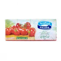 Saudia Tomato Paste Organic 4x135g
