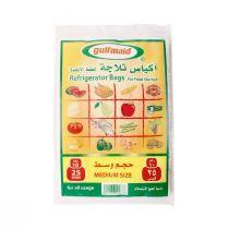 Gulfmaid Refrigerator Bags Medium (25 bags)