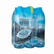 Masafi Mineral Water (6 bottles x 1.5 ltr)