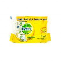 Dettol Fresh Anti-Bacterial Skin Wipes 10 Sheets