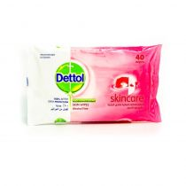 Dettol Skincare Anti-Bacterial Skin Wipes 40 Sheets