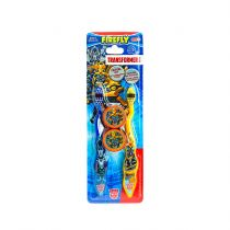Firefly Transformers Toothbrush With Cap 2 Pack