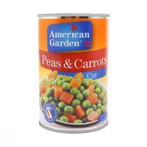 American Garden Cut Peas & Carrots 425g
