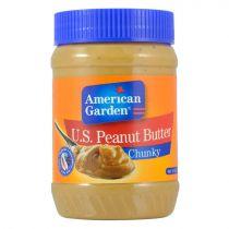 American Garden Chunky Peanut Butter 510g