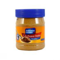American Garden Peanut Butter Chunky 12oz