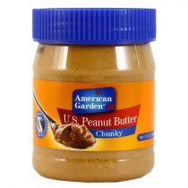 American Garden Chunky Peanut Butter 340g