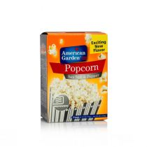 American Garden Microwave Popcorn Sea Salt & Pepper 255g