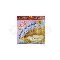Al Karamah Low Fat Puff Pastry Squares 400g
