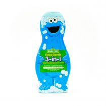 Sesame Street Elmo Extra Sensitive 3-in-1 Body Wash, Shampoo & Conditioner 414ml