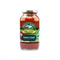 Walnut Acres Organic Tomato & Basil Pasta Sauce 722g