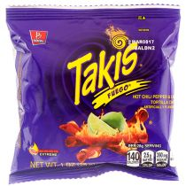 Takis Chips Fuego Papper Lime 28g