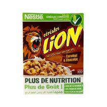 Nestle Lion Cereal Caramel & Crunch (400 g)