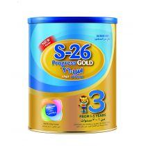 Nestle Wyeth Progress Gold for Children 1-3 Years Old 400g