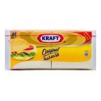 Kraft Original Cheese 20 Slices 400g