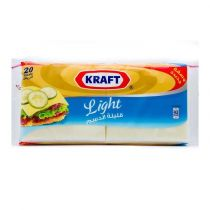 Kraft Light Cheese 20 Slices 400g