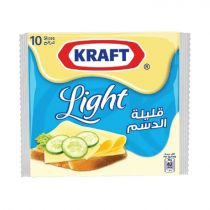 Kraft Light Cheese 20 Slices 200g