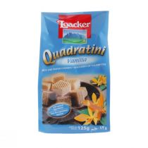 Loacker Quadratini Bite Size Vanilla Wafers (125 g)