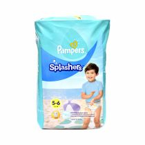 Pampers Splasher Diaper - Size 5 To 6