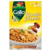Gallo Risotto Pronto with Stone Mushrooms (175 g)