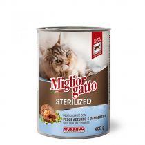 Miglior Gatto Sterilized Fish & Shrimp Pate  400g