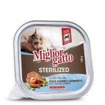 Miglior Gatto Sterilized Fish & Shrimps Pate  100g