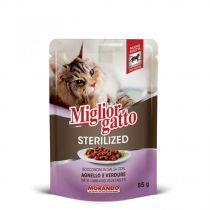 Miglior Gatto Sterilized Lamb  & Vegetables Pouch 85g