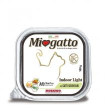 Miogatto Indoor Sedentary cats Pate 100g
