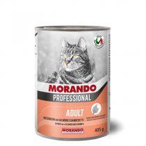 Morando Professional Adult Salmon & Shrimps Chunks 405g