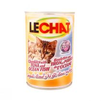 Le Chat Cat Food Can with Tuna & Ocean Fish (400 g)
