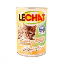Le Chat Cat Food Can with Rabbit (400 g)