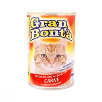 Gran Bonta Cat Food with Meat (400 g)