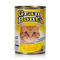 Gran Bonta Cat Food with Chicken (400 g)